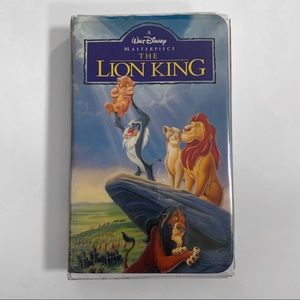 The Lion King VHS